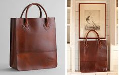 LL Bean Heritage Tote: Found this 9 months ago and now its disappeared from the web.  Great...
