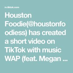 Houston Foodie(@houstonfoodiess) has created a short video on TikTok with music WAP (feat. Megan Thee Stallion). #WaitForTheGreats #houston #fyp #foryou #houstonfood #foodlover #seafood Piano, Houston Food, B Roll, Harry Potter Cosplay, Le Club, Tween Gifts, Races Fashion, Fashion Art, Baby Boomer