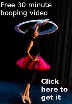 Free 30 minute hoop dance choreography video www.teachkidstohoop.com