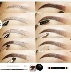 Perfect Eyebrows Made Easy With Semi Permanent Make Up Eyebrow Makeup Tips, Skin Makeup, Beauty Makeup, Makeup Eyebrows, Hd Brows, Makeup 101, Makeup Goals, Makeup Inspo, Makeup Inspiration