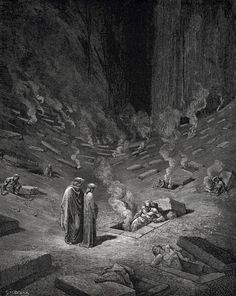 Giclee Prints Gustave Dore,Dante's Inferno, Giclee Prints He answer thus return The arch heretics are here accompanied by every sect their followers-C.29 by SILVESTROMEDIA, $19.99