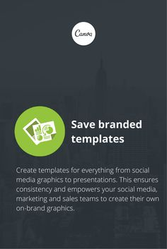 Canva for Work: You can create your own branded templates! https://about.canva.com/work/