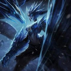 Ice Drake Shyvana Fantasy Character Design, Character Inspiration, Shyvana League Of Legends, Cool Picks, Dragon Girl, Lol, Fantasy Characters, Fictional Characters, Art Drawings Sketches Simple