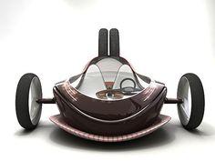 TRANSPORTATION TUESDAY: Futuristic MAG LEV Concept Car