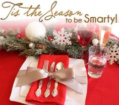 DIY Holiday Bow Placesettings #Christmas #Tablescape