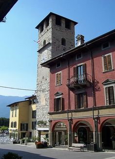 Tower of the bishop, Pisogne, Val Camonica, Lombardy, Italy