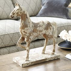 Trying to find great Bastille Wooden Horse Decor Series pieces to help you decorate like a pro? Discover Ballard Designs style and shop easy, fabulous Bastille Wooden Horse Decor Series decor online! Equestrian Decor, Equestrian Style, Wooden Horse, Horse Sculpture, Ballard Designs, Vintage Decor, Vintage Keys, Decorative Items, Home Accessories