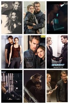 Tris and Four, Divergent, Insurgent, Allegiant, Fourtris, cute, movie, four ever, 4 and 6