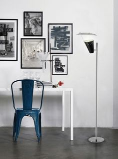 Small rooms? Here you have some unique tips to turn that around! | delightfull, lee, floor lamp, unique design | Get more inspiring interior design ideas at http://contemporarylighting.eu/