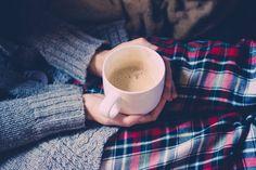 autumn chill coffe cozy girl