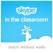 Students all over the world can now collaborate via Skype.