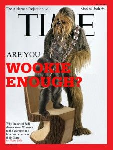 Star Wars TIME Spoof Cover