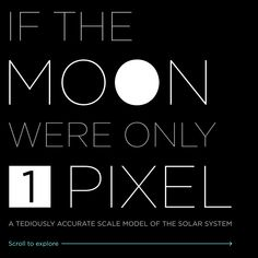 If the moon were only 1 pixel: a tediously accurate model of the solar system  http://joshworth.com/dev/pixelspace/pixelspace_solarsystem.html