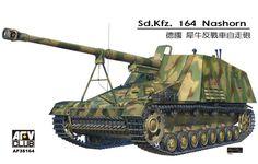 Model - Sd.Kfz.164 Nashorn - AFV Club 35164