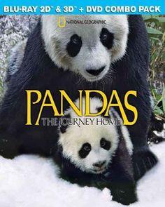Pandas: The Journey Home [3D] [Blu-ray/DVD] [Blu-ray/Blu-ray 3D/DVD] [2014] - Front_Standard