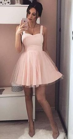 short homecoming dress, pink homecoming dress, 2017 short homecoming dress, princess homecoming dress, party dress
