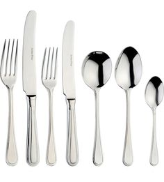 ARTHUR PRICE Bead 7-piece stainless steel place setting