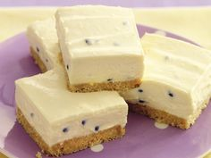 Passionfruit squares, cheese recipe, brought to you by recipes+