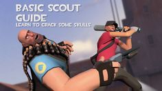 I made a Basic Scout Guide. A quick render to show people for critiques get some other perspectives. #games #teamfortress2 #steam #tf2 #SteamNewRelease #gaming #Valve
