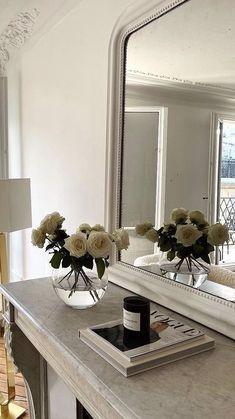 Dream Home Design, Home Interior Design, Interior Decorating, Deco Buffet, Modern Fireplace, Aesthetic Room Decor, Home Decor Bedroom, Room Inspiration, French Chic