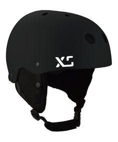 Look what I found on #zulily! Black Classic Snow Helmet - Adult #zulilyfinds