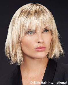 Bob Hairstyles With Bangs, Cool Haircuts, Pretty Hairstyles, Straight Hairstyles, Short Choppy Hair, Short Hair With Bangs, Medium Hair Styles, Short Hair Styles, Mullet Haircut