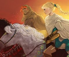 Sam and Celaena by Alex on We Heart It Throne Of Glass Fanart, Throne Of Glass Books, Assassin's Blade, Celaena Sardothien, Sarah J, Image Sharing, All Art, Fangirl, Disney Characters