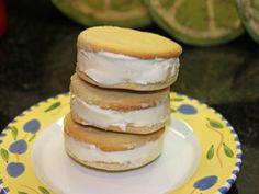 Organic Lemon Ice Cream Sandwiches Recipe