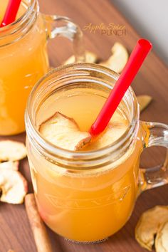 Apple Spice Punch | Annie's Noms - Served warm or chilled, this non-alcoholic apple spice punch will have you dreaming of cosy Autumn evenings.