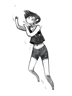 By Noelle Stevenson. I wish that whatever's happening to her in this picture would happen to me. That necklace is doing something. Is she getting ready to teleport somewhere better? Into some dangerous adventure? I want to go...
