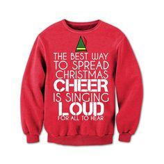 Tacky Christmas Sweater. Funny Christmas by CreateMoreSleepLess