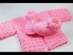 How to Crochet a Baby Blanket #1 Fast & Easy Baby Shower Set |☕ The Crochet Shop - YouTube