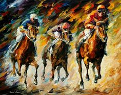 INSTANT OF  SUCCESS - PALETTE KNIFE Oil Painting On Canvas By Leonid Afremov - http://afremov.com/INSTANT-OF-SUCCESS-PALETTE-KNIFE-Oil-Painting-On-Canvas-By-Leonid-Afremov-Size-24-x30.html?utm_source=s-pinterest&utm_medium=/afremov_usa&utm_campaign=ADD-YOUR