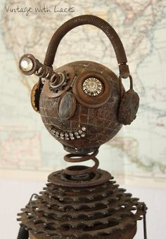 Popping-Eye Pete – A Found Object Sculpture