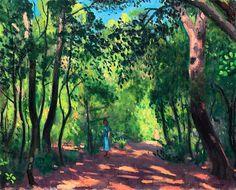 bofransson:  Albert Marquet (1875-1947) Porquerolles, le jardin