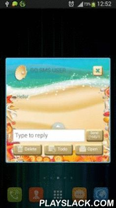 GO SMS Pro Beach  Android App - playslack.com , Summer is here and we can now celebrate the most loved season of all! We all waited for summer for so long but now we can relax and enjoy the part of the year everyone adores. Show how much you love going to the beach with the new GO SMS Pro Beach theme. Customize the SMS layout of your favorite gadgets with the new GO SMS Pro Beach theme and enjoy awesome texts for all your friends. DOWNLOAD the theme today, it's all for FREE!- To install…