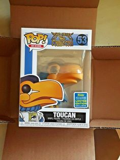 2019 San Diego Comic Con Mascot TOUCAN Shared Exclusive Bundle Limited Edition #Funko