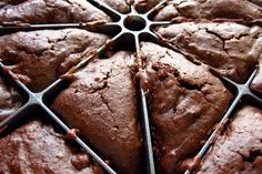 Black Bean Brownies  I made these after a workout instructor brought them in during a short nutrition crash-course...if you don't tell people, they don't even notice, and actually they will love them!  Black beans add tons of fiber and cut the calories down by a third :)
