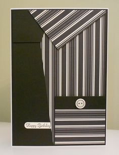 Shirt & tie card. Can use pocket to give money or a gift card