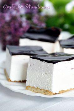 Ptasie mleczko najprostsze | Arabeska - ROBIŁAM z biszkoptami i żurawiną Fruit Recipes, Sweet Recipes, Cake Recipes, Dessert Recipes, Sweets Cake, Cupcake Cakes, Cupcakes, No Bake Desserts, Delicious Desserts