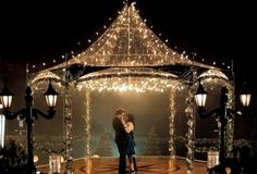 Love the gazebo and lights