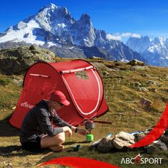 EFFORTLESS CAMPING – Pops open into a read-to-use form (auto-setup) in a blink & proves easy to fold into a compact form – Abco Pop up tent is ideal for casual camping and accommodates 1-2 persons. Like a beautiful spot enroute? Setup your tent instantly! Pop Up Camping Tent, Pop Up Tent, Outdoor Camping, Outdoor Gear, Survival Equipment, Survival Gear, Instant Tent, 2 Person Tent, Tent Reviews