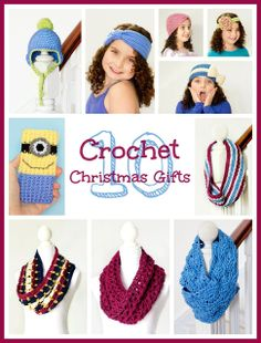 10 Quick & Easy Crochet Christmas Gifts via Hopeful Honey