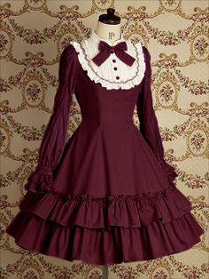 Casual dress she would wear.