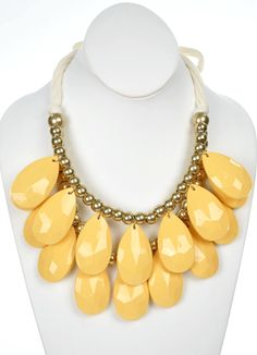 The Bead Goes On in Yellow