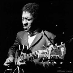 Grant Green in the blue Note studio -- photo by Francis Wolff