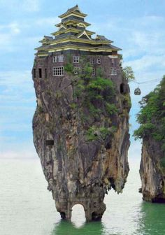 De meest vreemde en bizarre huizen!