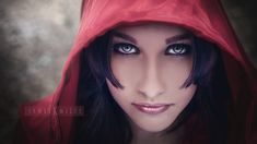 Glamour-Photography-Hollywood FL Little Red Riding Hood