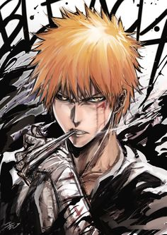 Check out our Bleach anime products here at Rykamall now! Bleach Manga, Ichigo Manga, Manga Anime, Ichigo Y Rukia, Bleach Fanart, Art Anime, Fanarts Anime, Bleach Anime Art, Bleach Ichigo Hollow