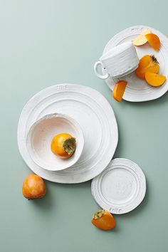 Glenna Dinner Plates, Set of 4 by Anthropologie in White, Dinnerware Tuscan Design, Tuscan Style, White Dinnerware, Dinnerware Sets, Farmhouse Dinnerware, Tuscan Decorating, French Country Decorating, Interior Decorating, Isle Of Man